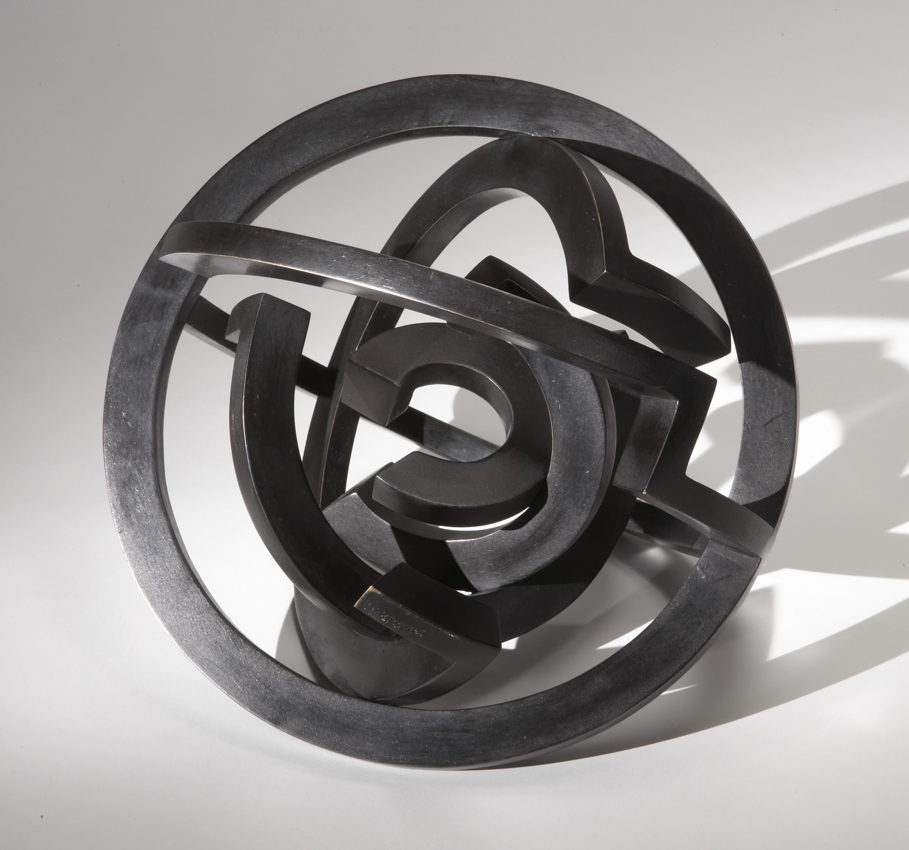 cordero-riccardo-meteora-nera-2005-bronzo-diam-cm-50