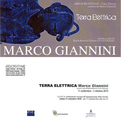 Terra Elettrica - Sculture di Marco Giannini