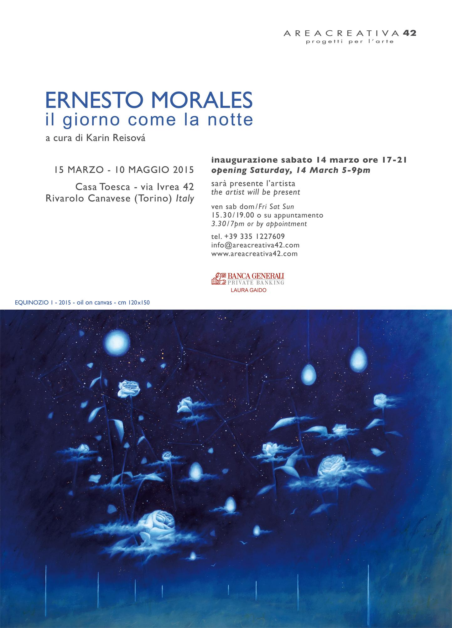 Ernesto Morales - Il giorno come la notte
