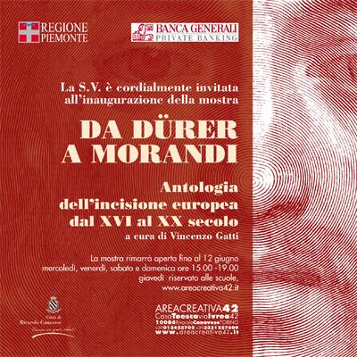 DaDürer a Morandi  - Antologia dell'incisione europea dal XVI al XX secolo