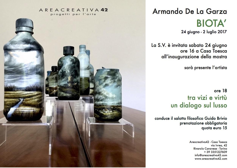 Invito Armando e salotto filosofico