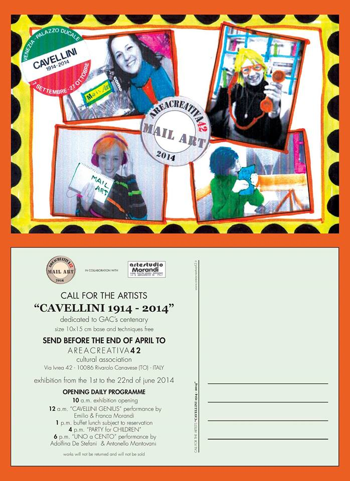 cartolina mail art II Ed