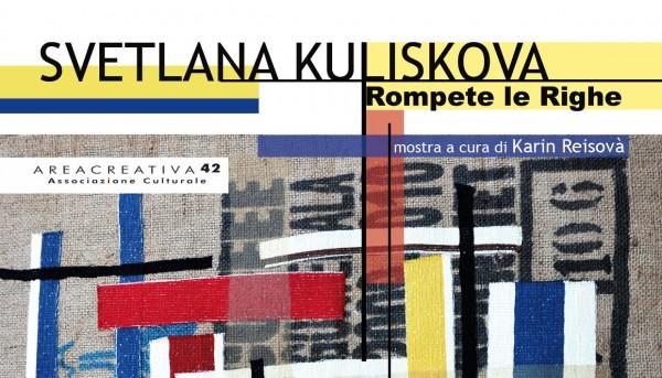 SVETLANA KULISKOVA - Rompete le righe