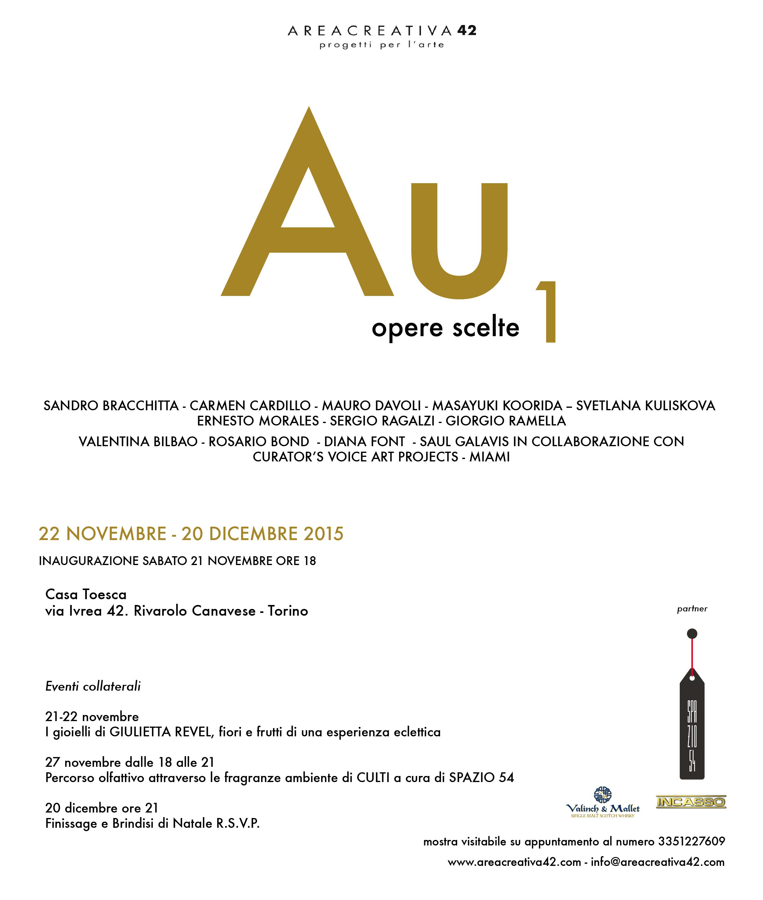 AU1 - Opere scelte sul tema dell'oro e della vanitas