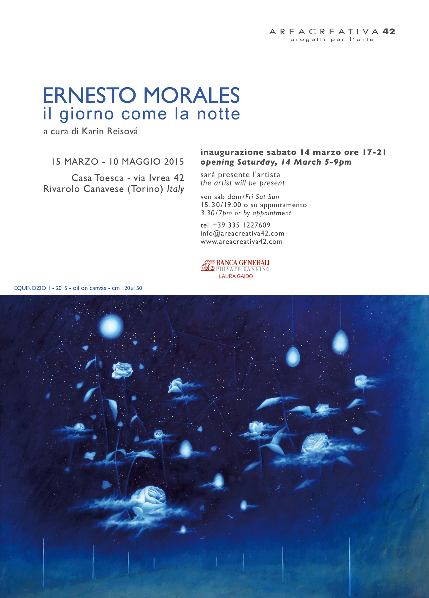 Ernesto Morales - As the day, so the night
