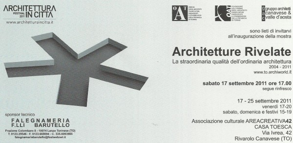 Revealed Architectures